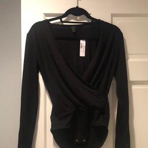 JCrew Black Bodysuit